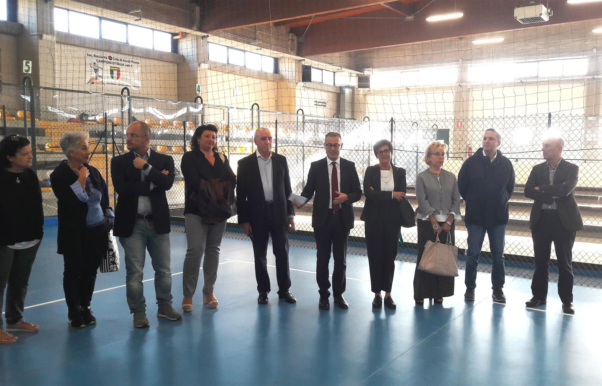 Inaugurato Spazio Sportivo polivalente Istituto Ma