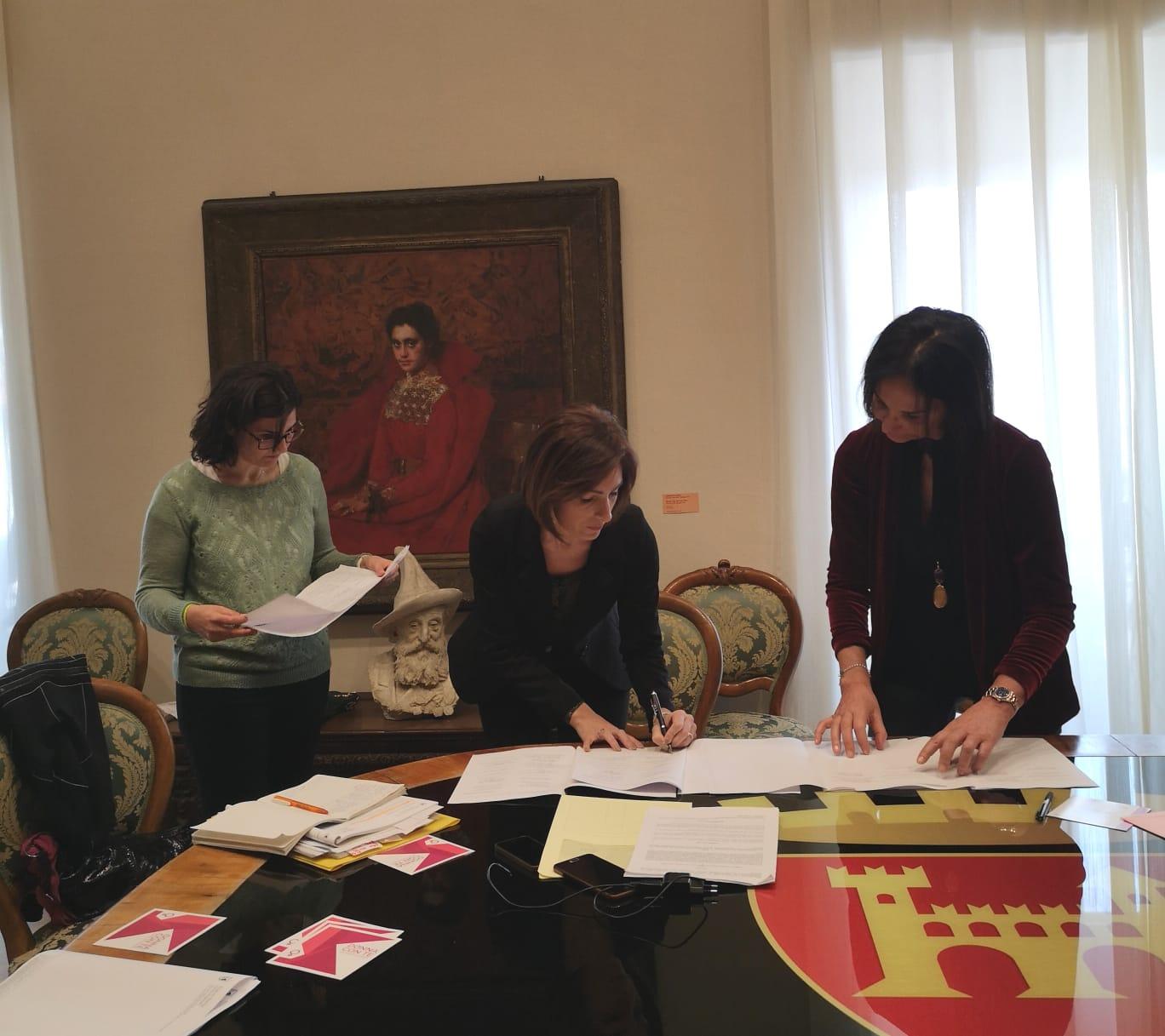 Firma del protocollo rete antiviolenza