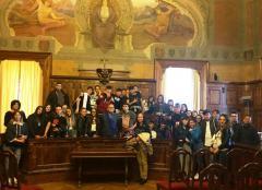 Visita Istituto Capriotti SBT in Provincia