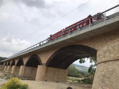 Ponte di Rubbianello - Prove di Carico