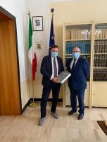 Il Prefetto AP De Rogatis con il Pres. della Prov